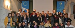 Foto di gruppo dei partecipanti alla terza edizione di Gocce di Buona Politica