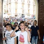 arrivano i ragazzi delle scuole al Calabria Day 2012