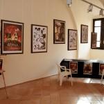 Spazi del Calabria Day - i giovani di AttivaMante hanno predisposto la mostra e l'area per l'estemporanea a loro dedicata