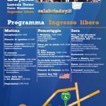 La locandina con il programma della giornata del Calabria Day 2012