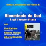 Copertina dedicata alla presentazione del libro di Lino Patruno
