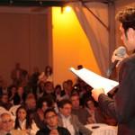 Vivere il Calabria Day 2012 - Alberto Micelotta mentre cita autori calabresi