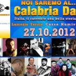 Un copertina web dedicata agli spettacoli serali del Calabria Day 2012